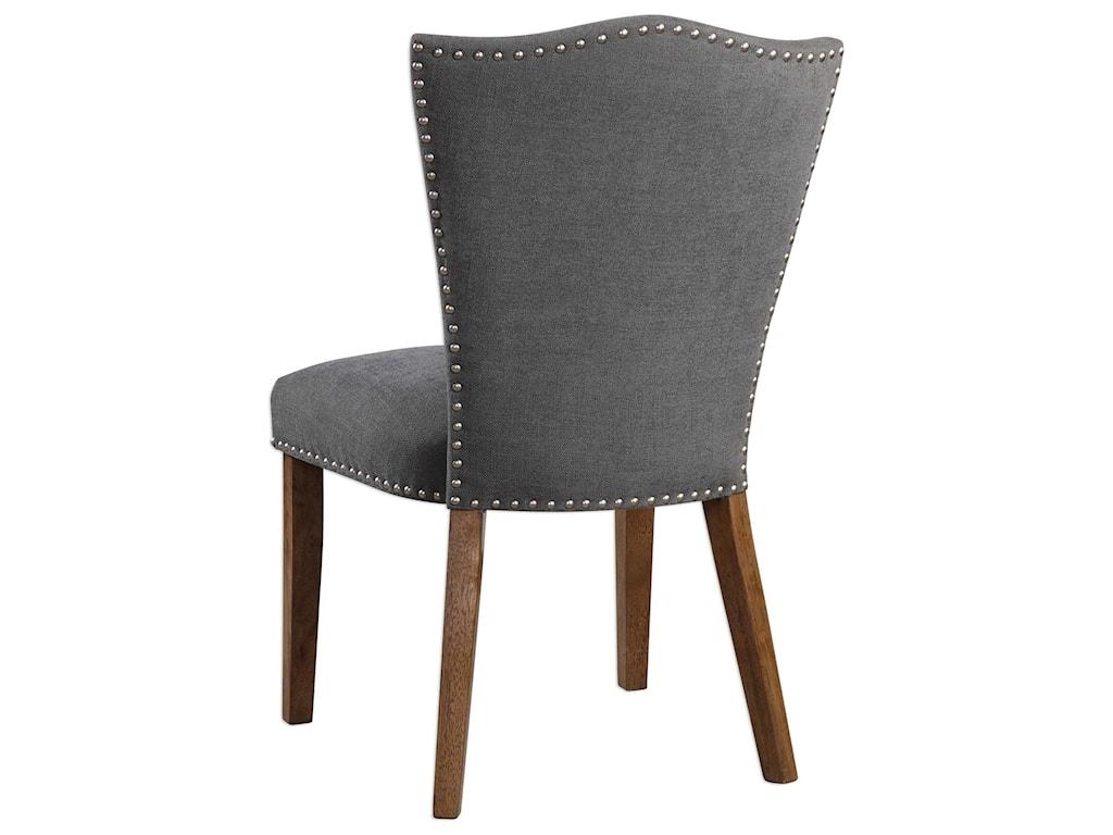 Uttermost Accent FurnitureRuhls Gray Armless Chair