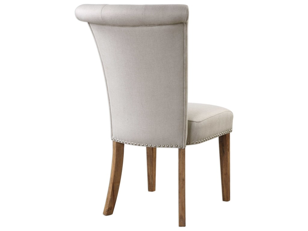 Uttermost Accent FurnitureLucasse Oatmeal Dining Chair