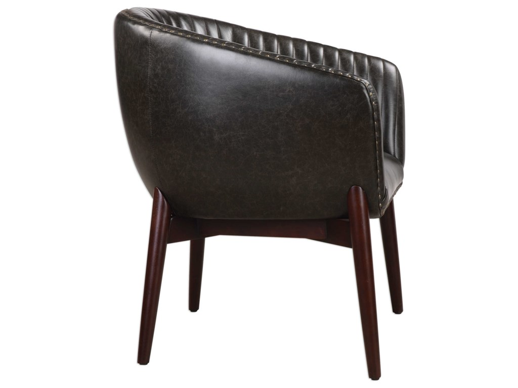Uttermost Accent Furniture - Accent ChairsAnders Chenille Accent Chair