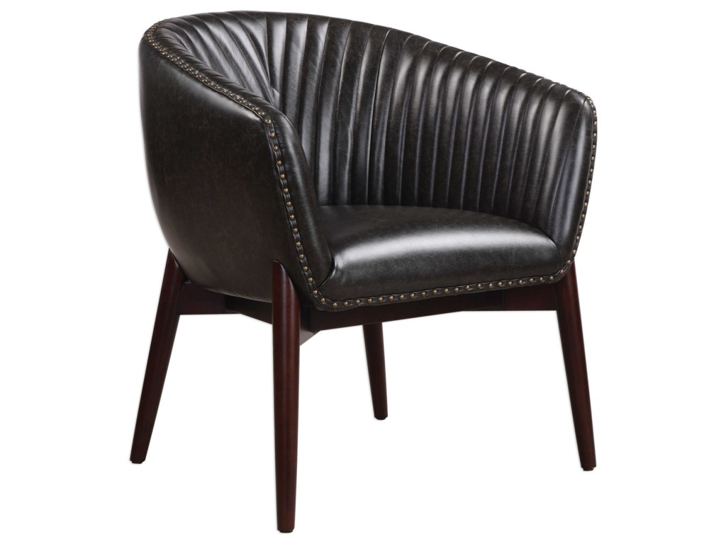 Uttermost Accent FurnitureAnders Chenille Accent Chair