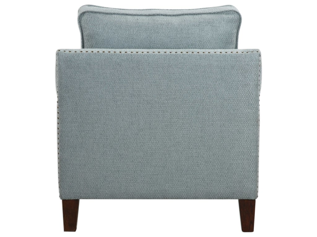Uttermost Accent FurnitureCharlotta Sea Mist Accent Chair