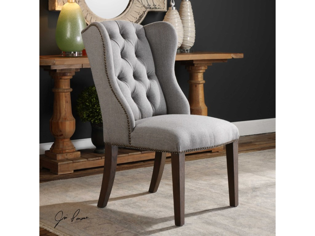 Uttermost Accent FurnitureJonna Wingback Accent Chair