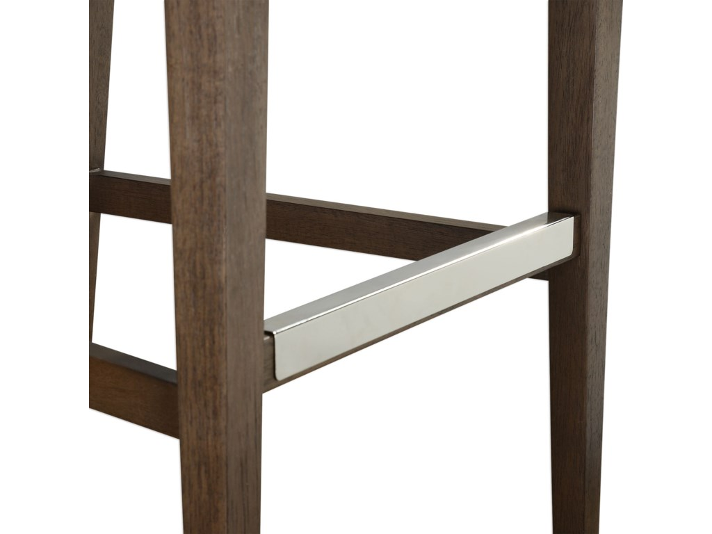 Uttermost Accent FurnitureKlemens Linen Bar Stool
