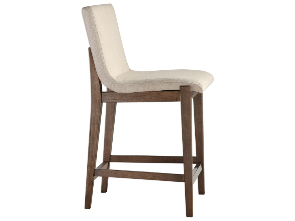 Uttermost Accent FurnitureKlemens Linen Counter Stool