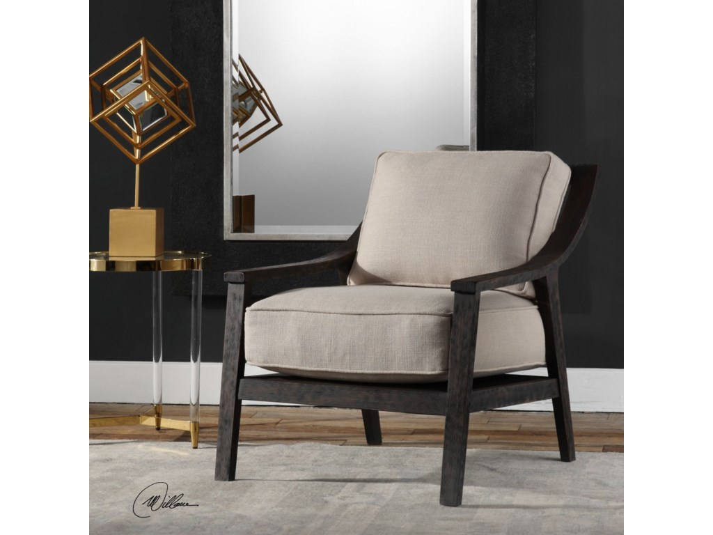 Uttermost Accent FurnitureLyle Beige Accent Chair