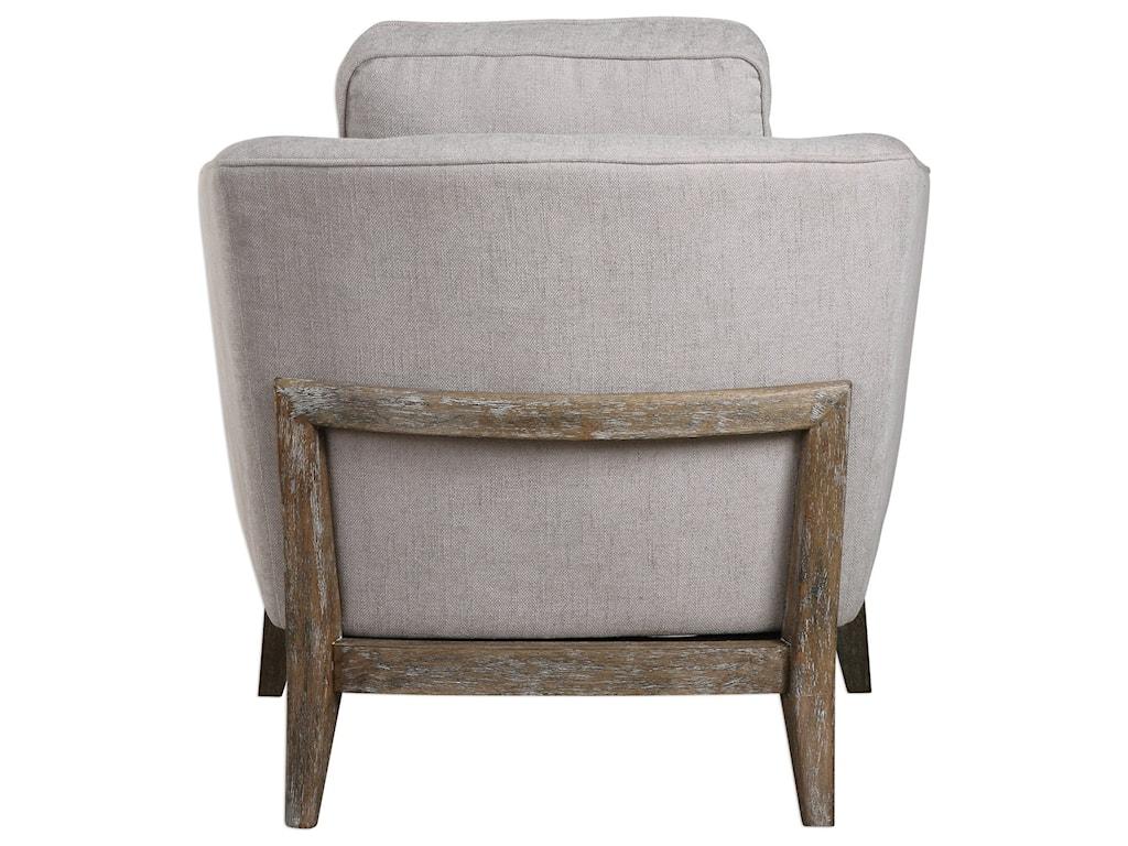 Uttermost Accent FurnitureVarner Beige Linen Accent Chair