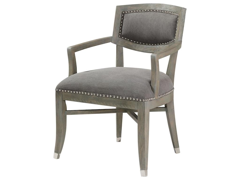 Uttermost Accent Furniture - Accent ChairsIverson Armchair