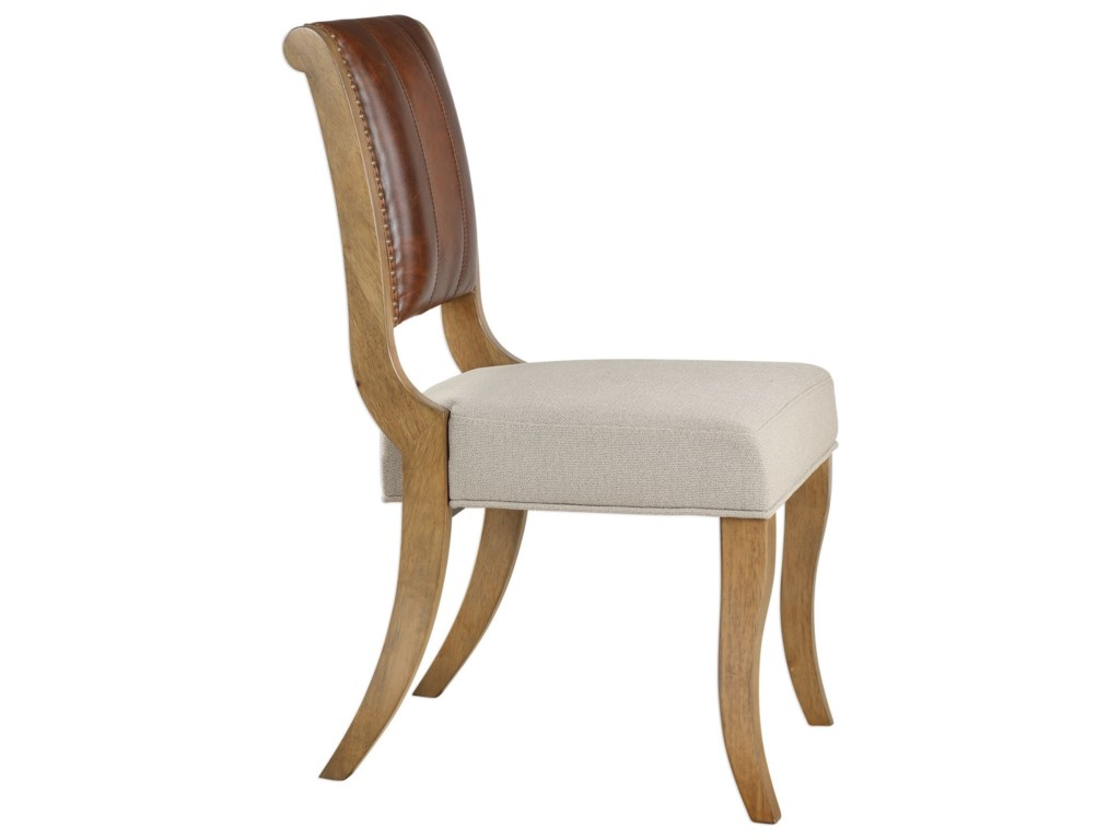 Uttermost Accent FurnitureCarson Armless Chair
