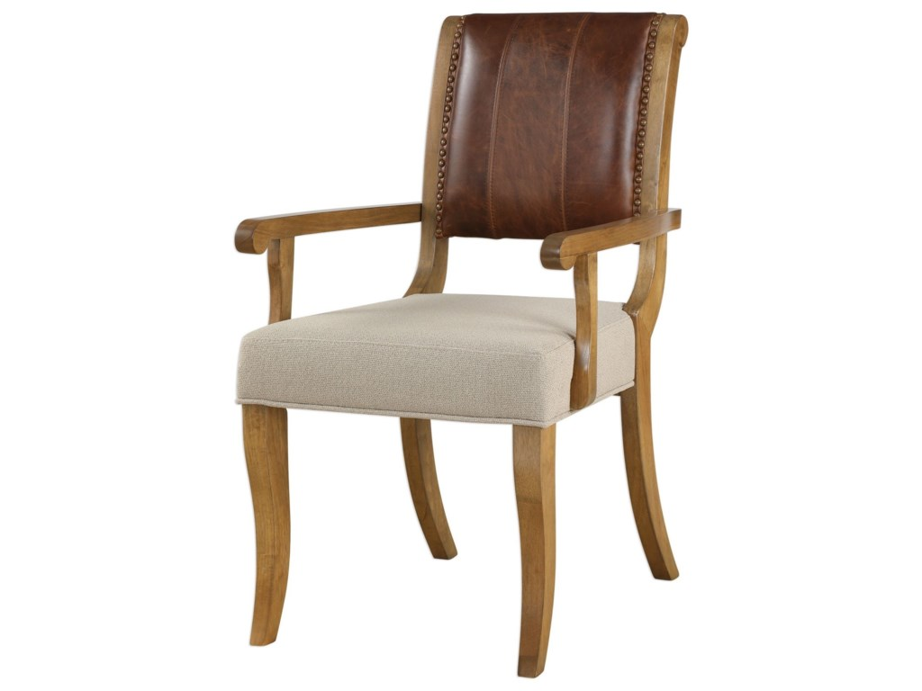 Uttermost Accent FurnitureCarson Armchair