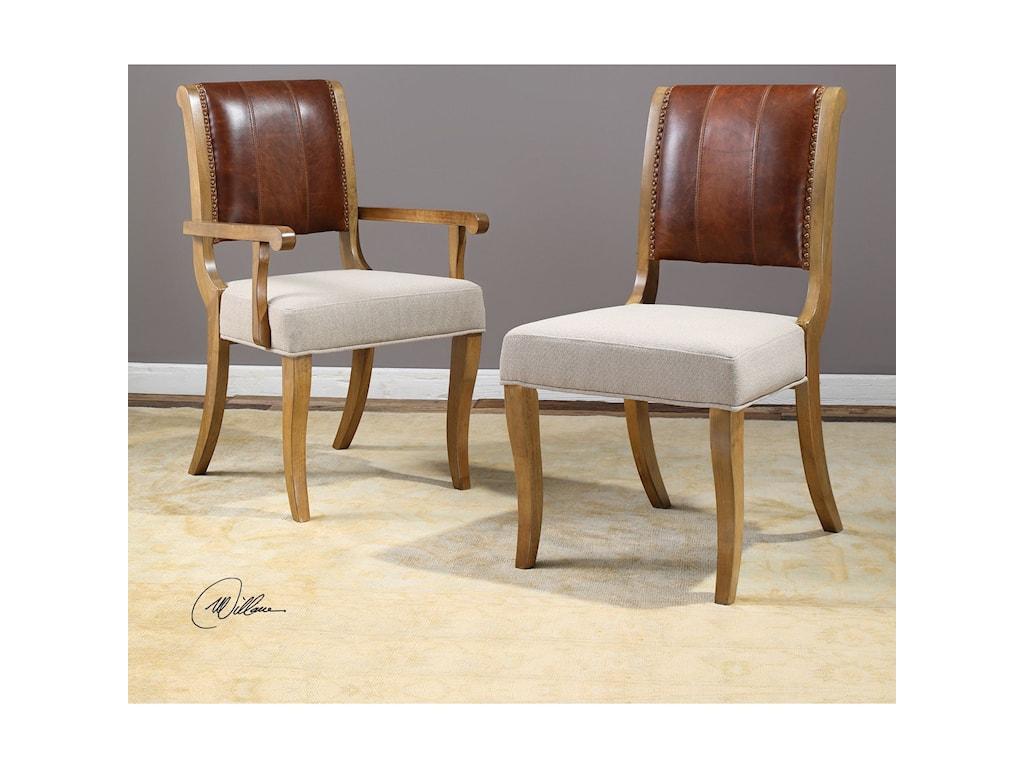 Uttermost Accent FurnitureCarson Armchair