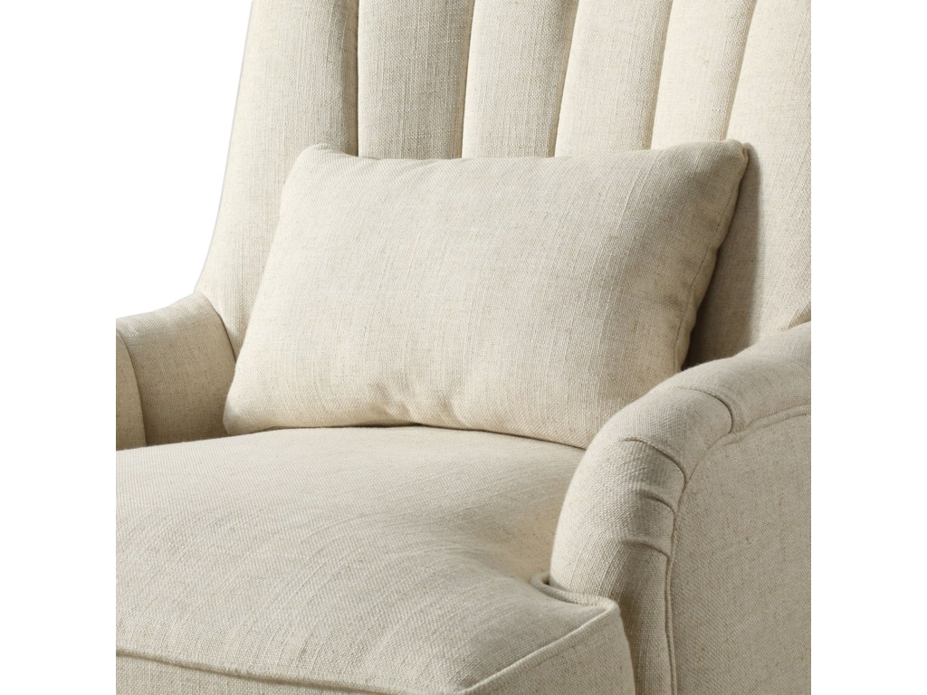 Uttermost Accent Furniture - Accent ChairsDenney Oatmeal Accent Chair
