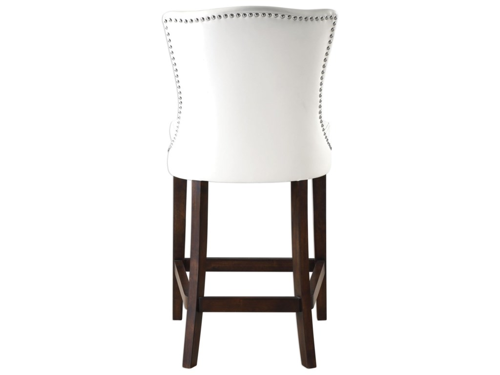 Uttermost Accent FurnitureDariela White Counter Stool