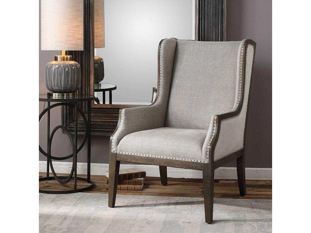 Uttermost Accent FurnitureFlorent Armchair