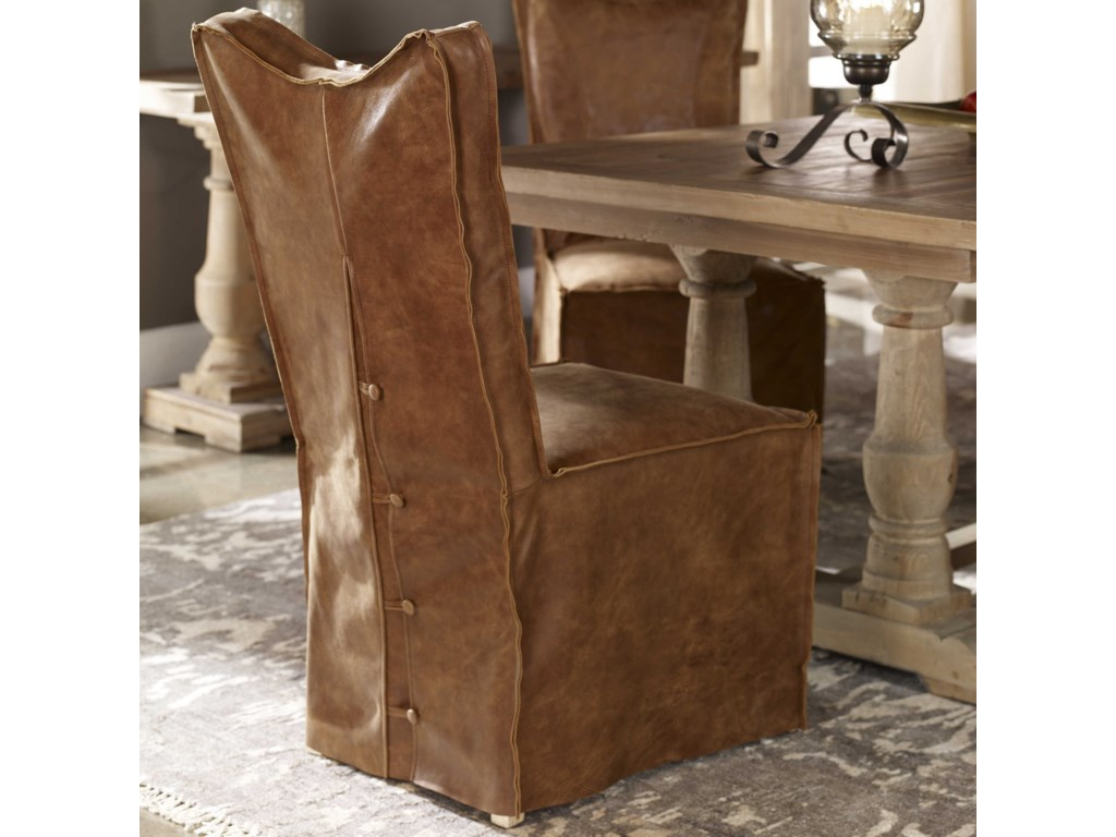 Uttermost Accent FurnitureDelroy Armless Chairs