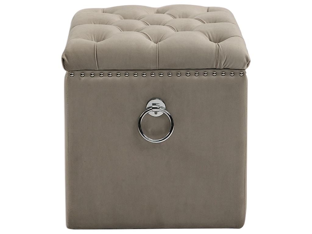 Uttermost Accent FurnitureTalullah Tufted Storage Ottoman