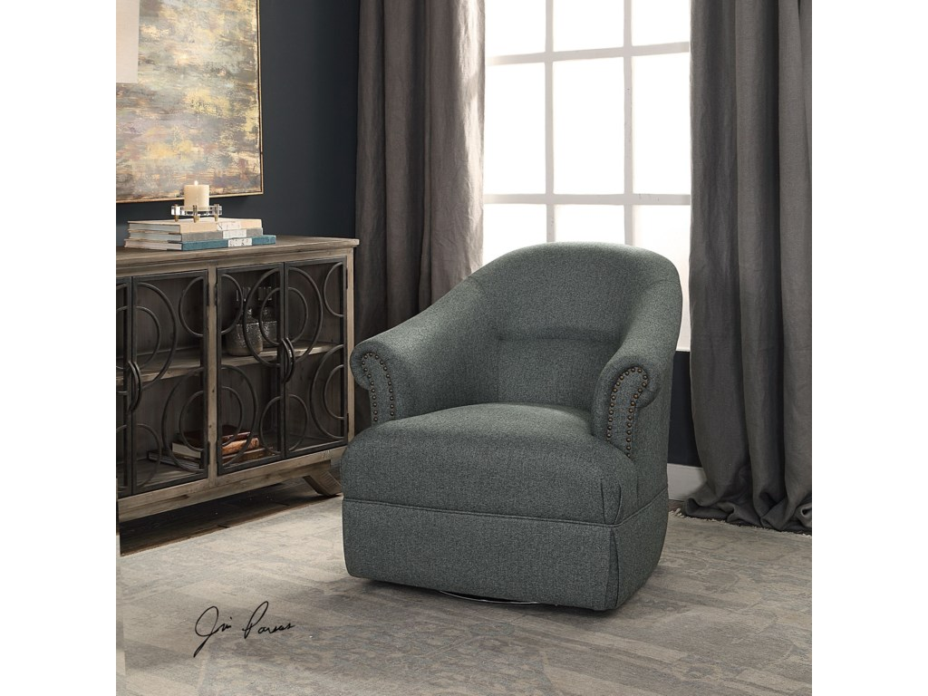 Uttermost Accent FurnitureTuloma Swivel Chair