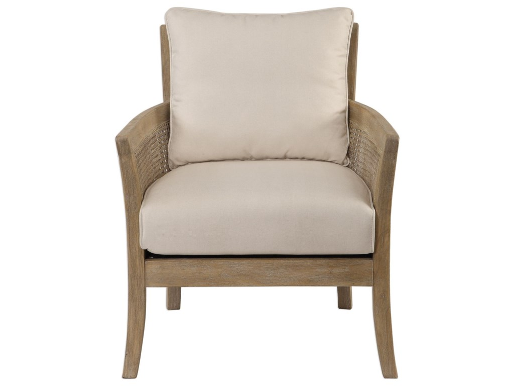 Uttermost Accent Furniture - Accent ChairsEncore Natural Armchair