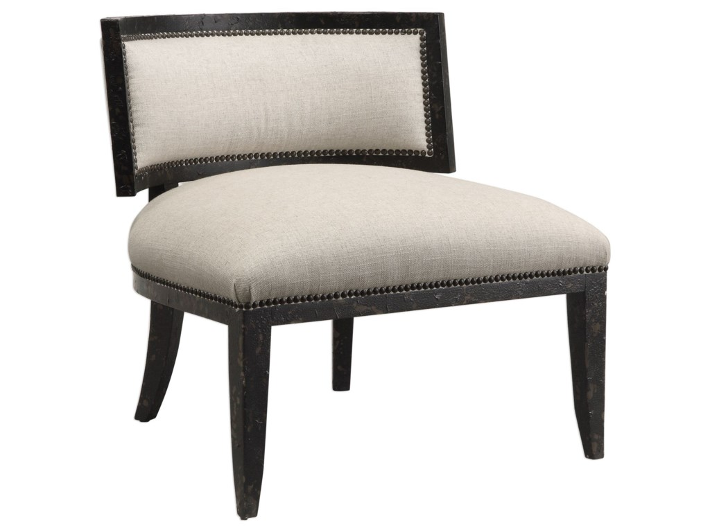 Uttermost Accent Furniture - Accent ChairsSomer Oatmeal Accent Chair