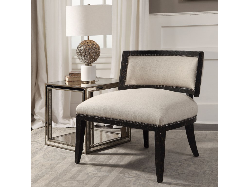 Uttermost Accent FurnitureSomer Oatmeal Accent Chair