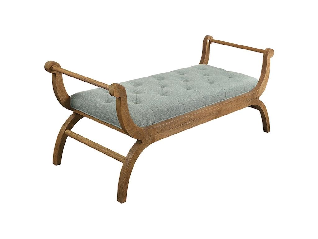 Uttermost Accent FurnitureAllier Scroll Bench