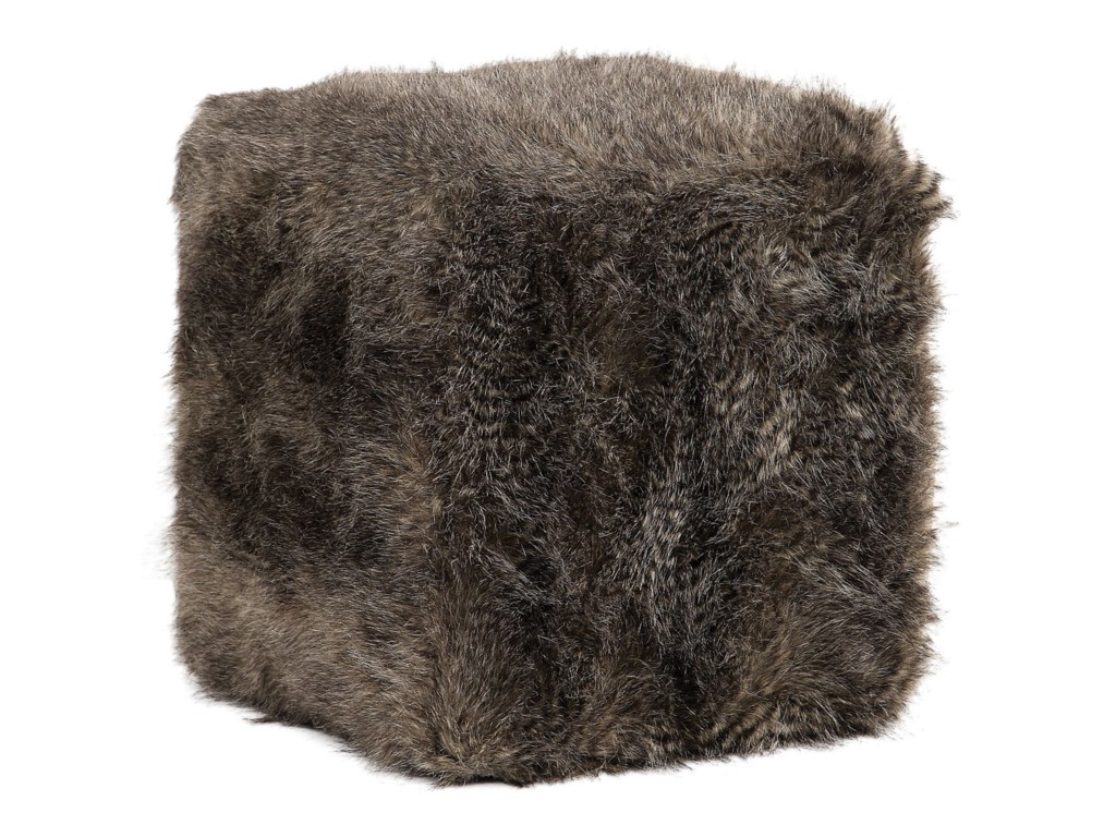 Uttermost Accent Furniture - OttomansJayna Fur Ottoman