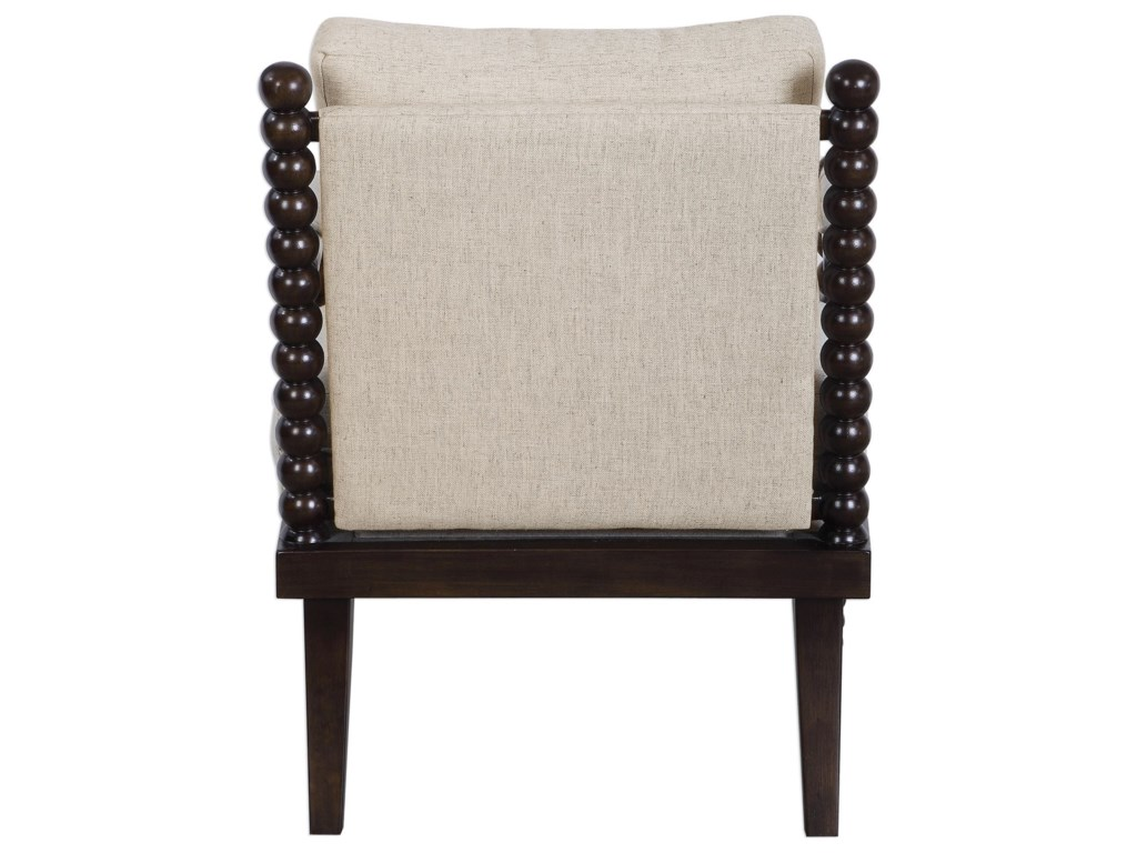 Uttermost Accent Furniture - Accent ChairsLachlan Oatmeal Accent Chair