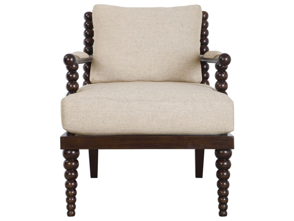 Uttermost Accent FurnitureLachlan Oatmeal Accent Chair