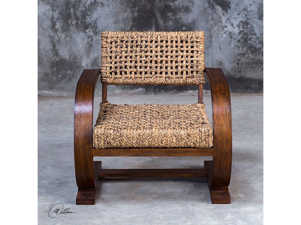 Uttermost Accent FurnitureRehema Natural Woven Accent Chair