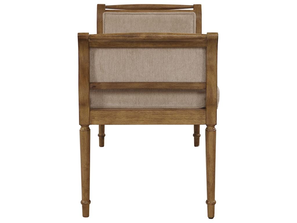 Uttermost Accent FurnitureKosey Chenille Bench
