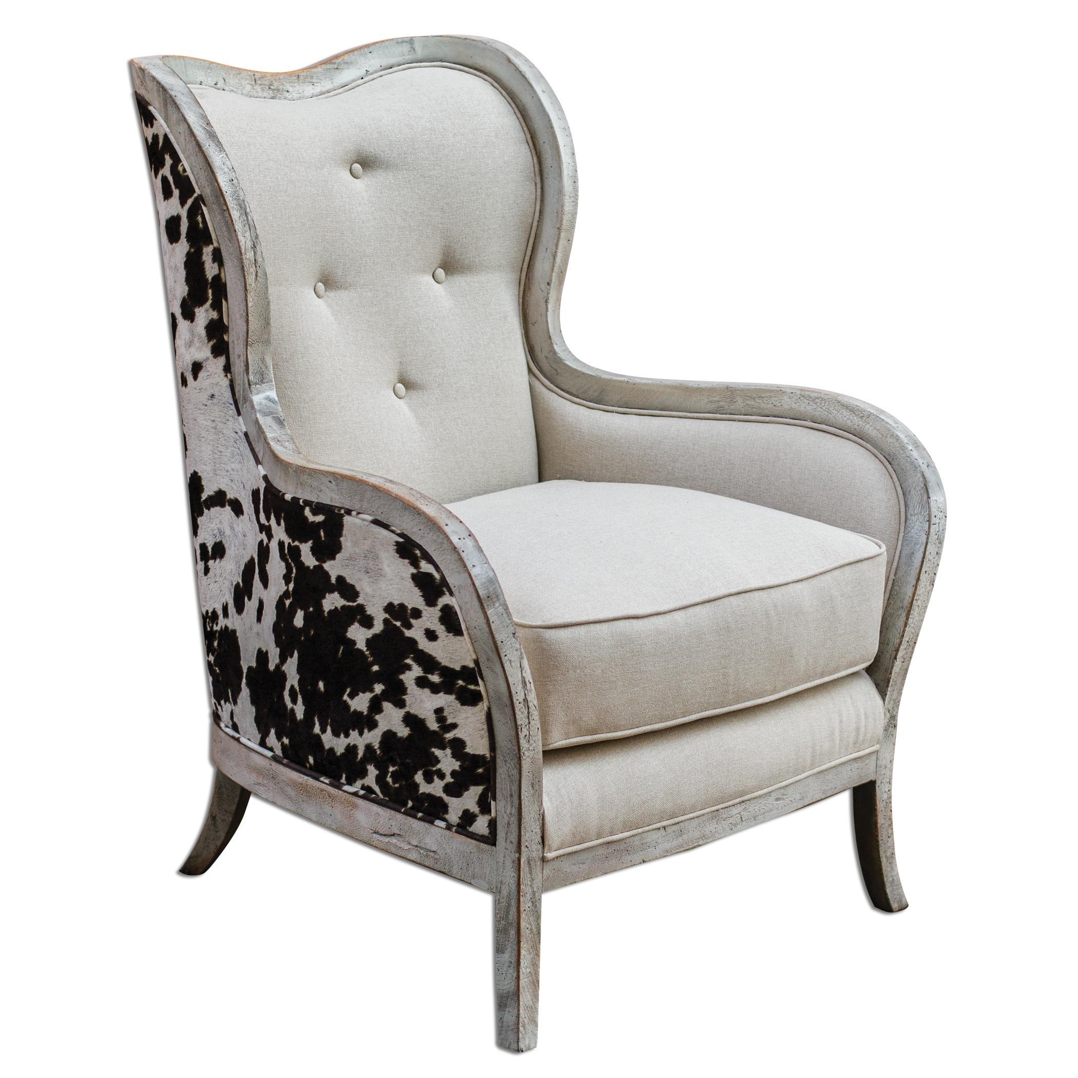 Chalina High Back Arm Chair