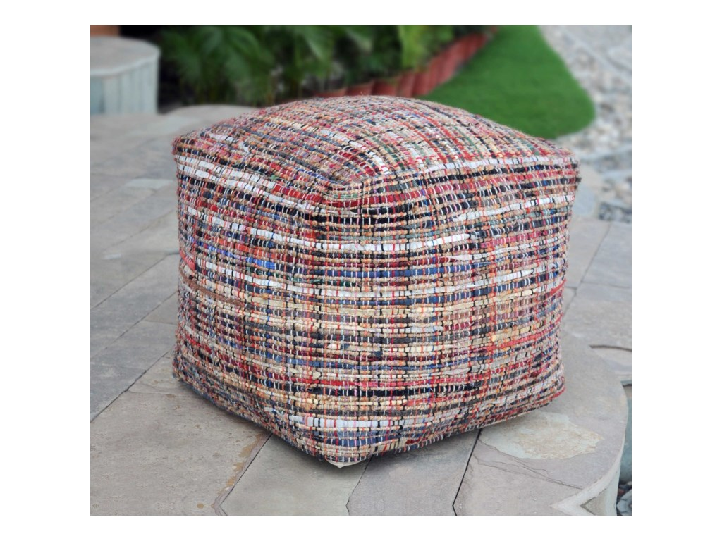 Uttermost Accent FurnitureNyala Multi Colored Pouf
