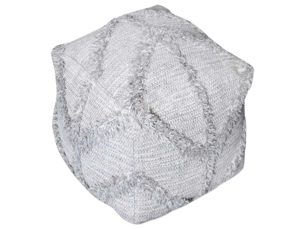 Uttermost Accent FurnitureOlfen Gray Pouf