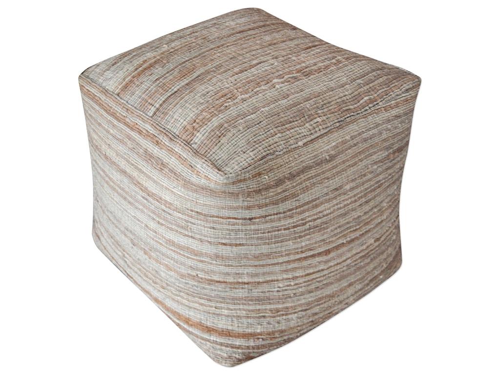 Uttermost Accent FurnitureShiro Beige Pouf