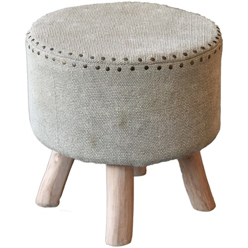 Uttermost Accent Furniture Lucas Accent Stool