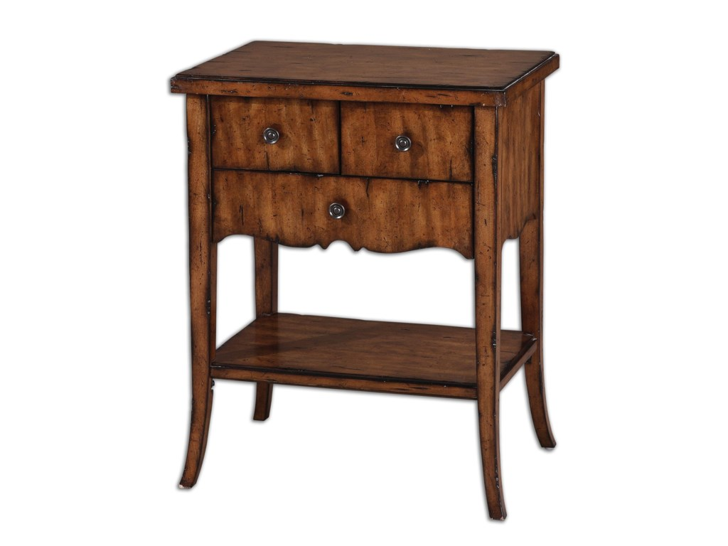 Uttermost Accent FurnitureCarmel End Table