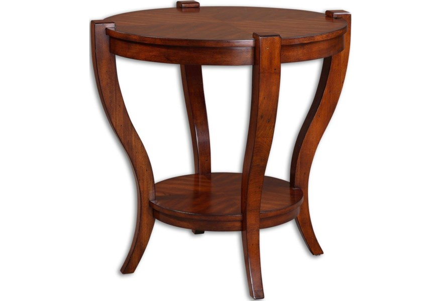 Accent Furniture Occasional Tables Bergman End Table