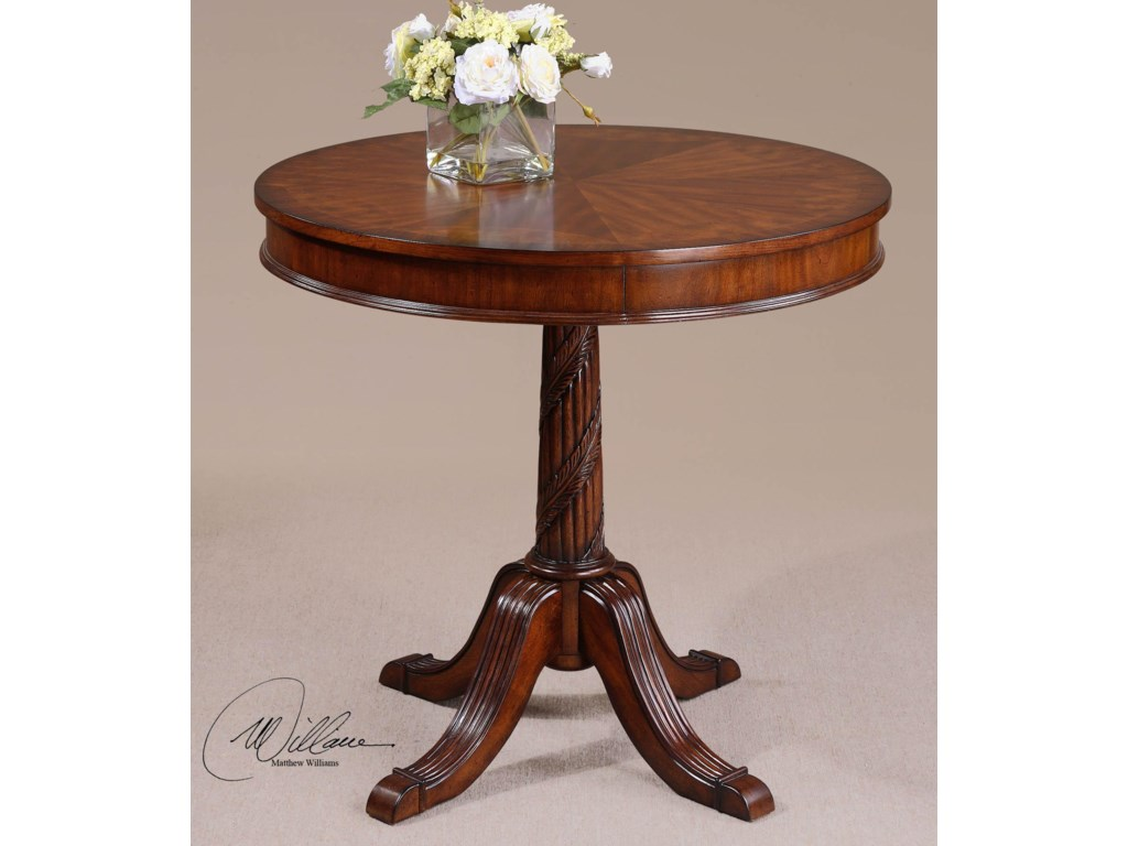 Uttermost Accent Furniture - Occasional TablesBrakefield Round Table