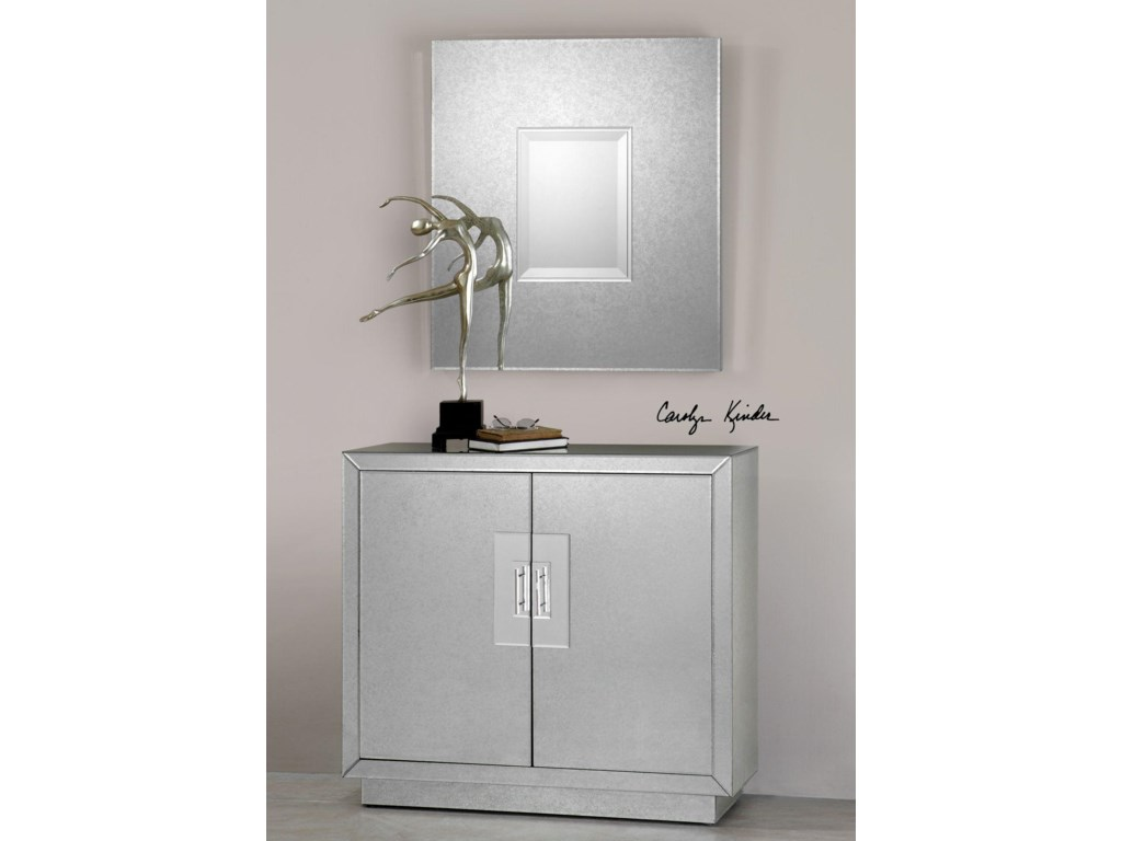 Uttermost Accent Furniture - ChestsAndover Mirrored Cabinet