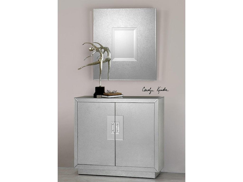 Uttermost Accent FurnitureAndover Mirrored Cabinet