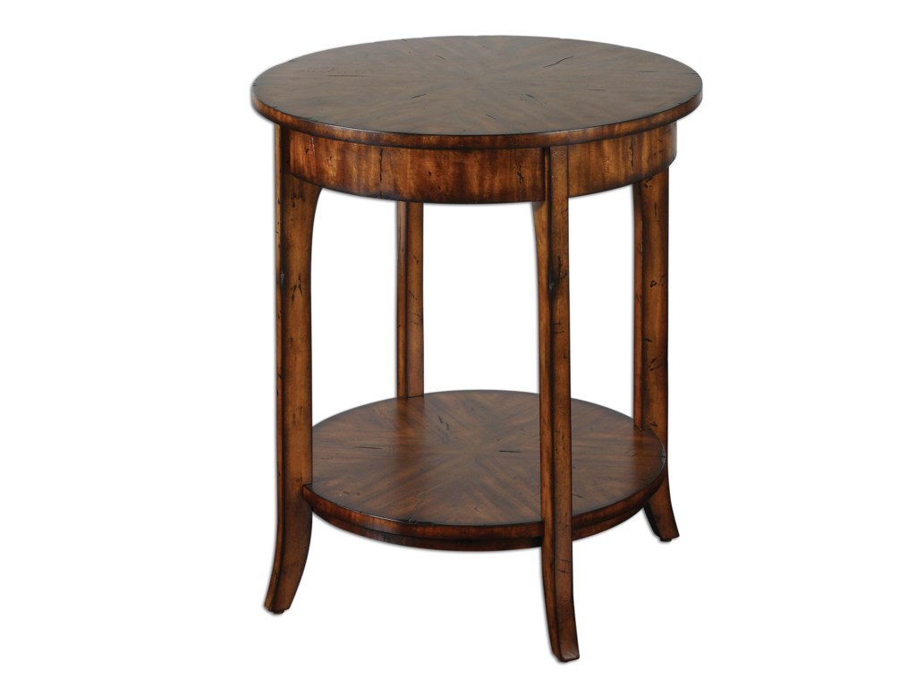 Uttermost Accent Furniture - Occasional TablesCarmel Lamp Table