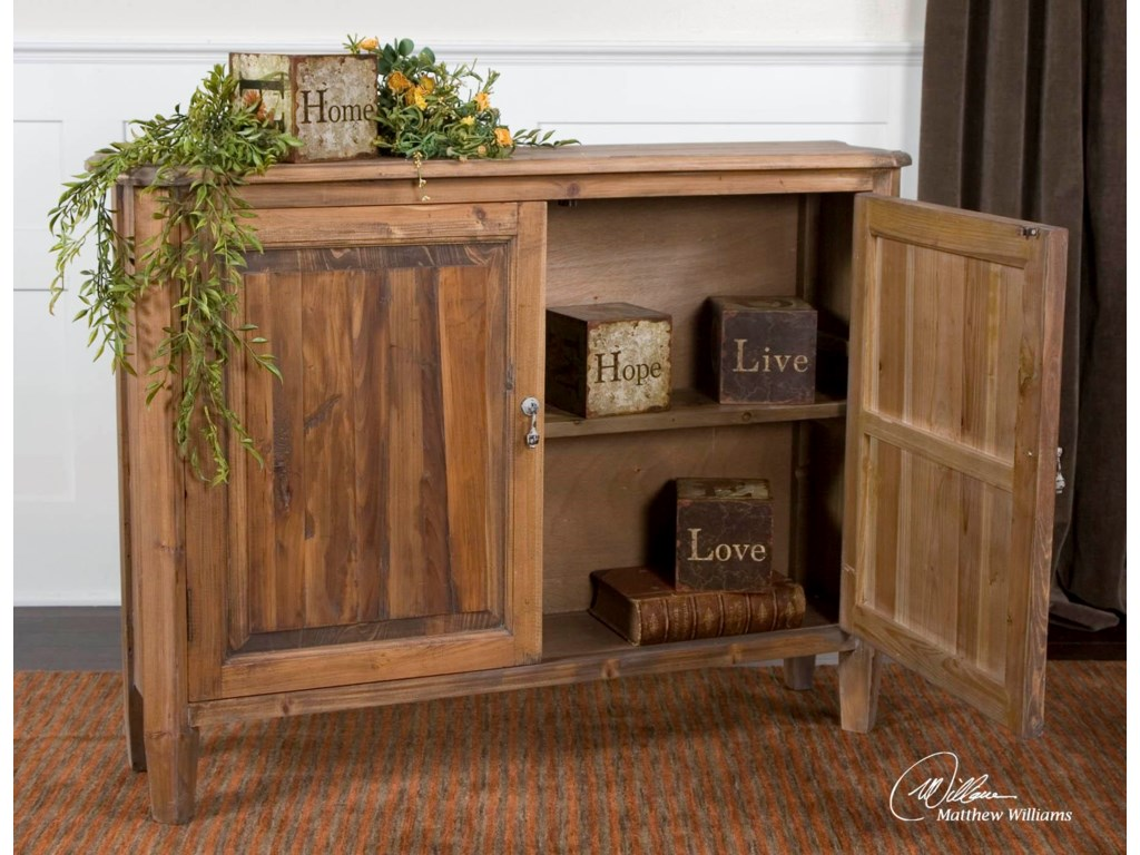 Uttermost Accent Furniture - ChestsAltair Console Cabinet