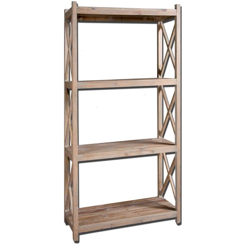 Uttermost Accent Furniture Stratford Simple Etagere