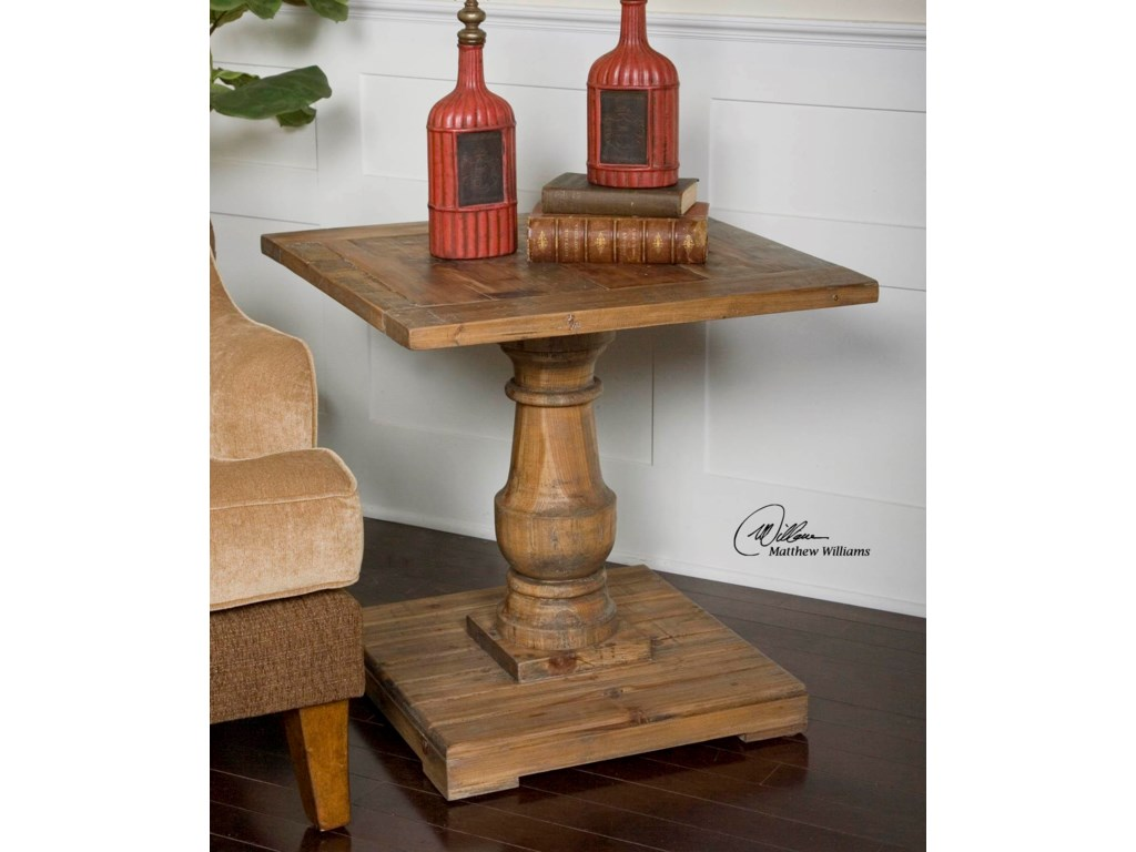 Uttermost Accent Furniture - Occasional TablesStratford End Table