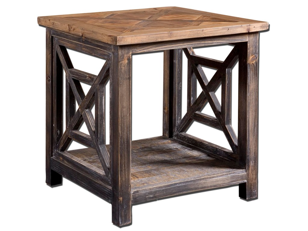 Uttermost Accent Furniture - Occasional TablesSpiro End Table
