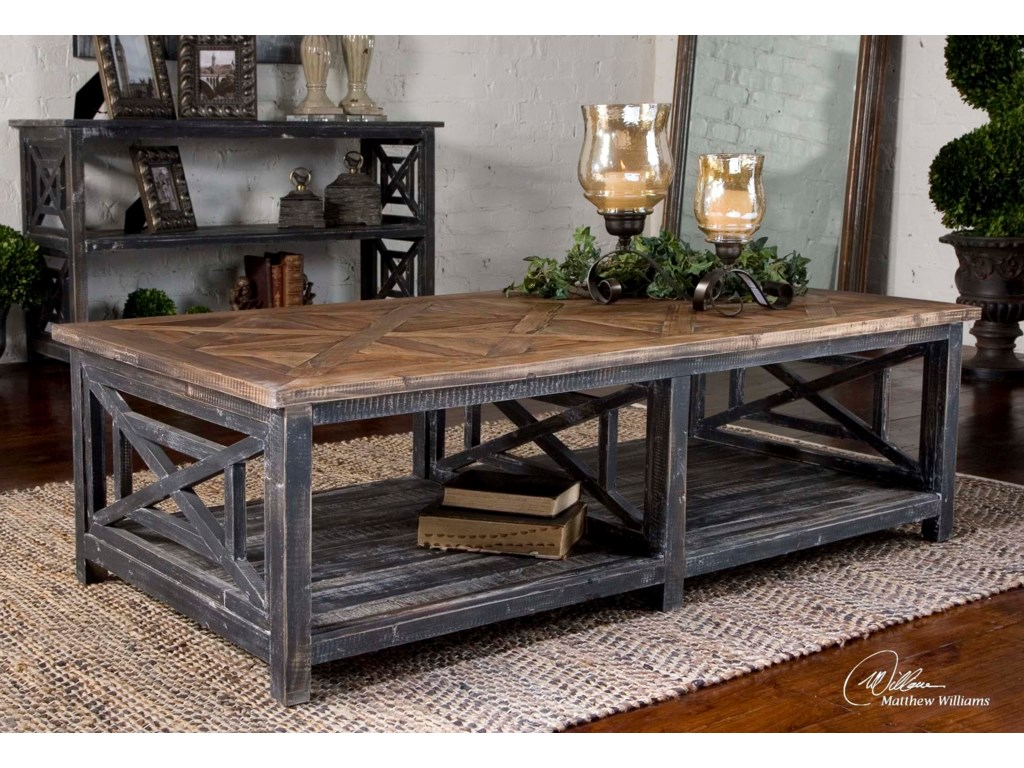 Uttermost Accent Furniture - Occasional TablesSpiro Cocktail Table