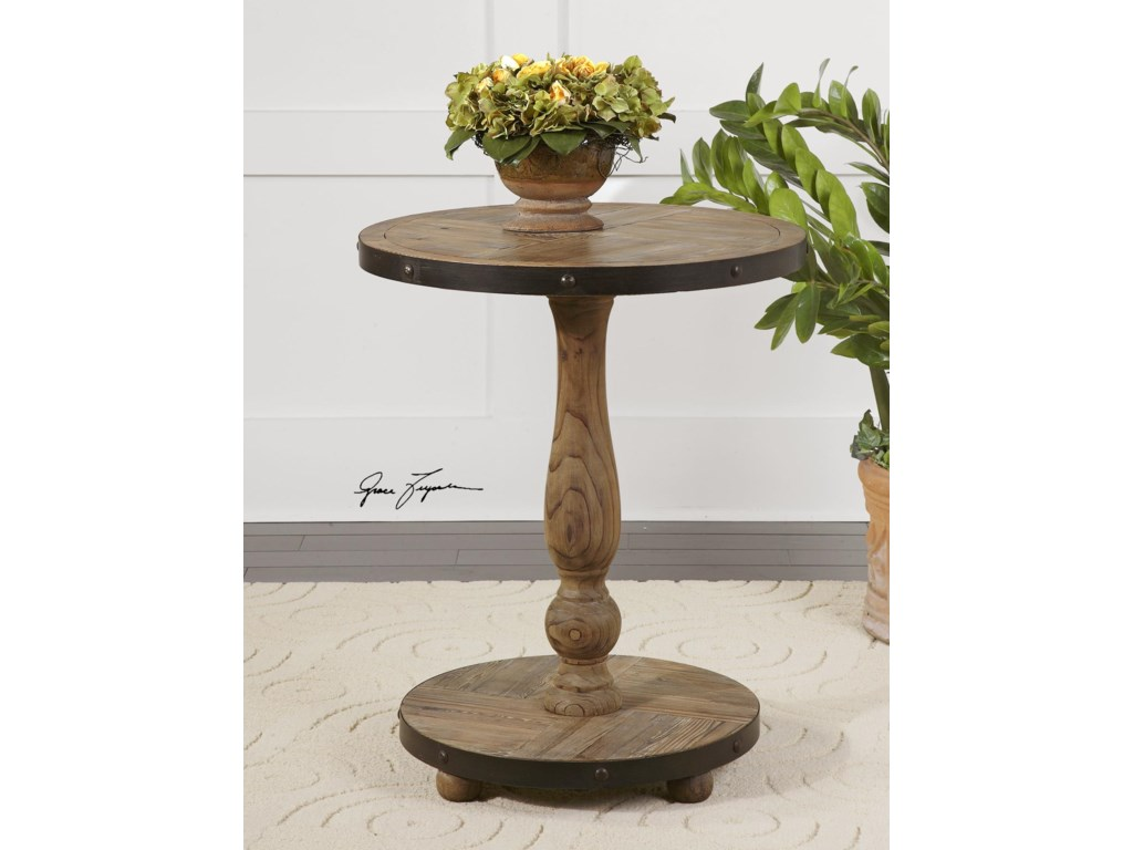 Uttermost Accent Furniture - Occasional TablesKumberlin Round Table