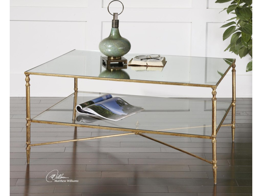 Uttermost Accent Furniture - Occasional TablesHenzler Coffee Table