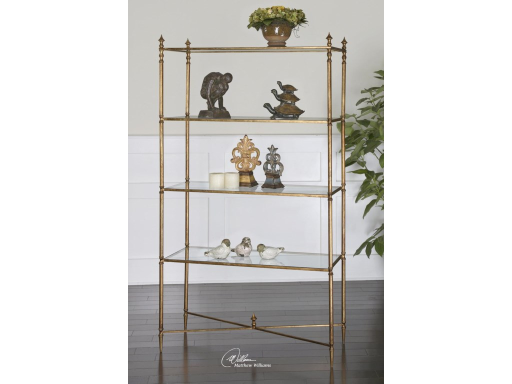 Uttermost Accent Furniture - BookcasesHenzler Etagere