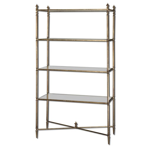 Uttermost Accent Furniture Henzler Etagere for Any Room