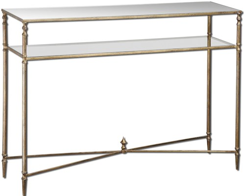 Uttermost Accent Furniture Henzler Console Table